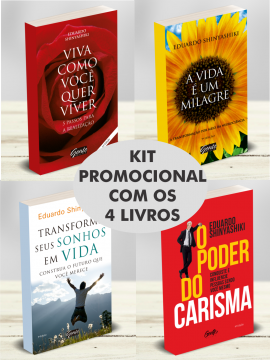 Kit de Livros Promocional