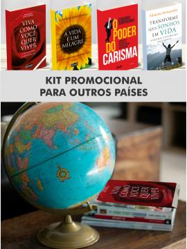 Kit de livros em outras moedas